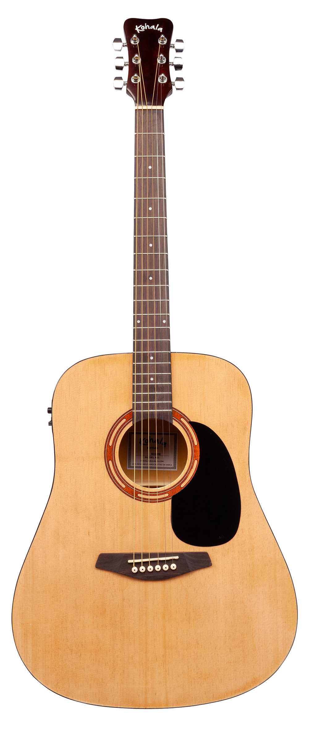 Kohala 4/4 Electric/Acoustic Guitar