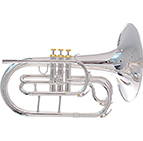 System Blue Traditional SB20SL-LE Marching  Silver Mellophone