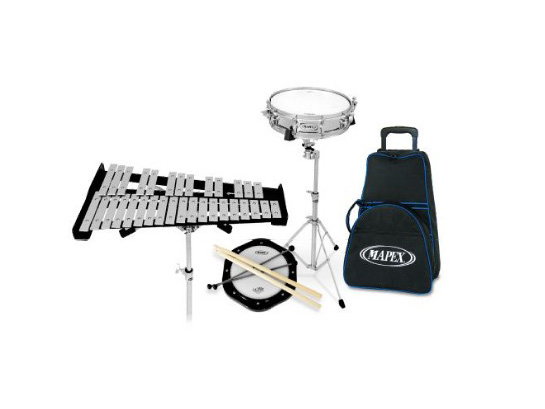 Mapex Drum & Bell Kit with Roller Bag